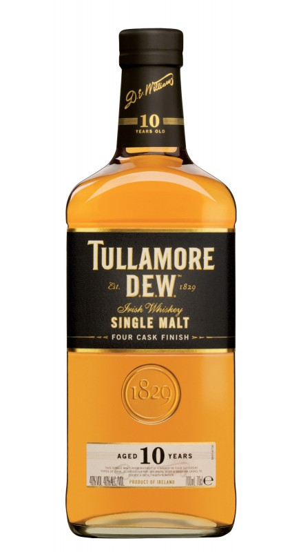Tullamore Dew 10 Y.O. Single Malt Whisky