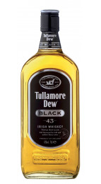 Tullamore Dew Black Irish Blended Whisky