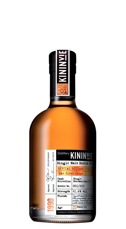Kininvie 25 Y.O. First Drops 20 Single Malt Whisky