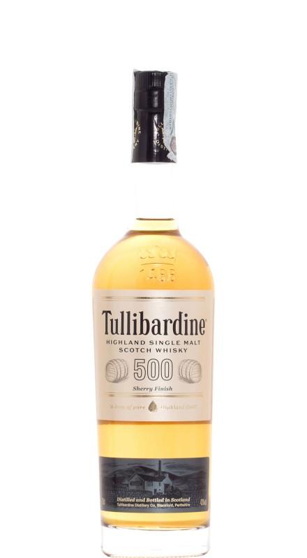 Tullibardine 500 Sherry Cask Single Malt Whisky