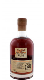 English Harbour 1981 25 Y.O.Rum