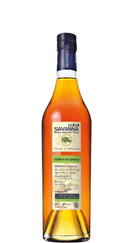 Savanna 2002 6 Y.O. Rhum Agricole