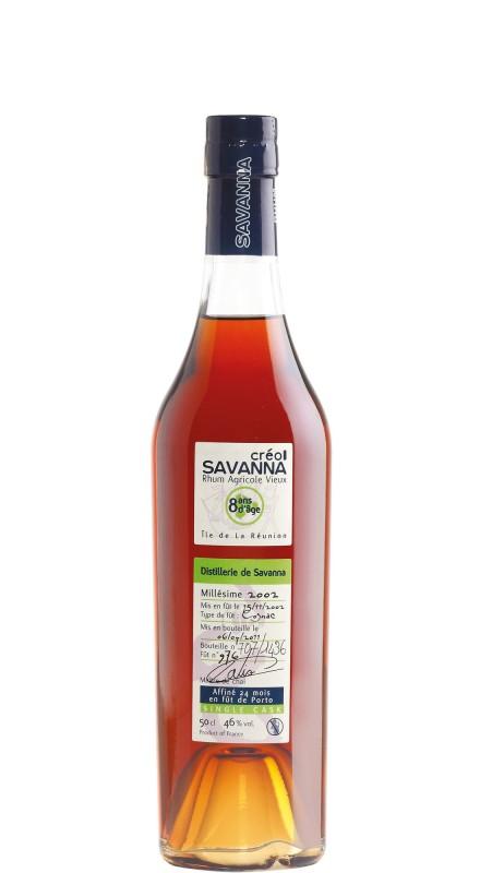 Savanna 2002 8 Y.O. Rhum Agricole