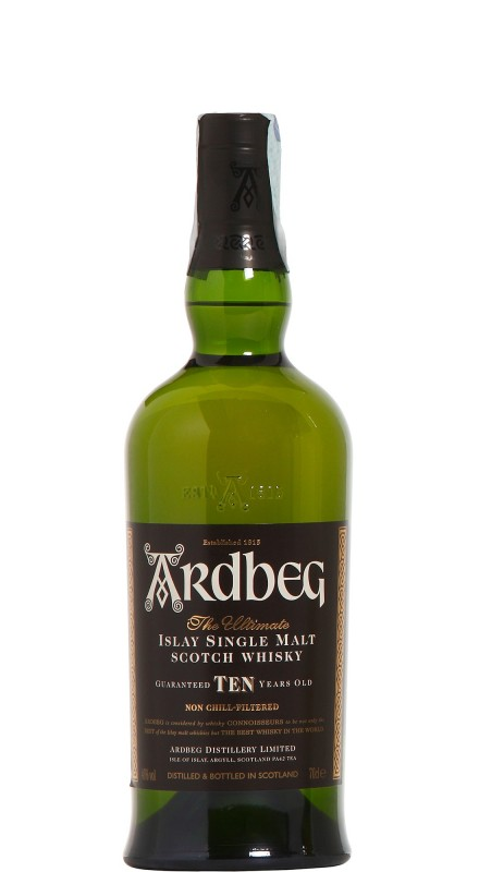 Ardbeg 10 Y.O. Single Malt Whisky
