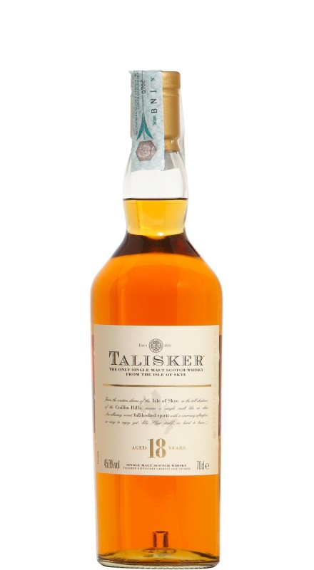 Talisker 18 Y.O. Single Malt Whisky