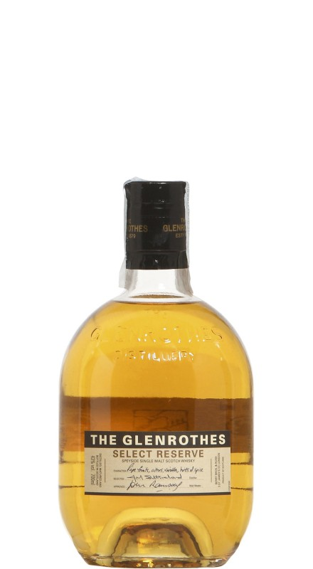 Glenrothes Select Reserve Single Malt Whisky