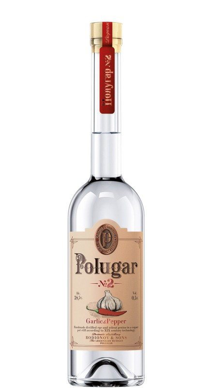 Polugar N°2 Garlic & Pepper Vodka