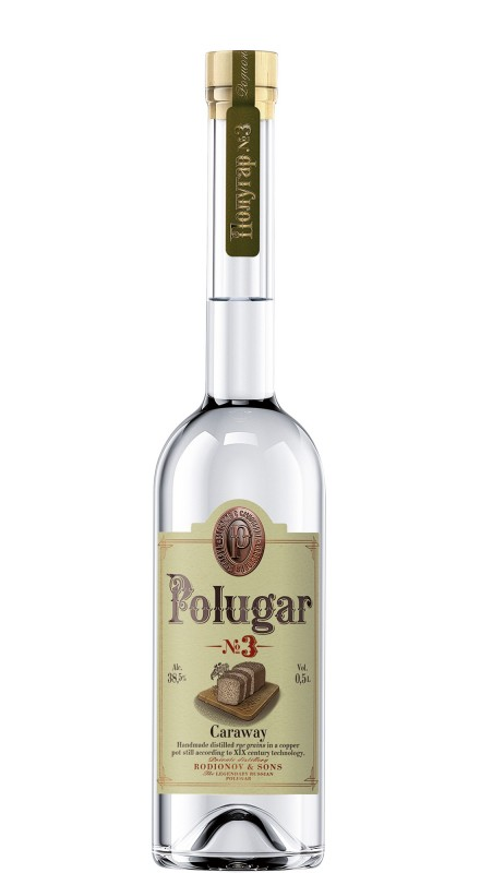 Polugar N°3 Caraway Vodka