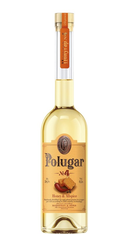 Polugar N°4 Honey & Allspice Vodka