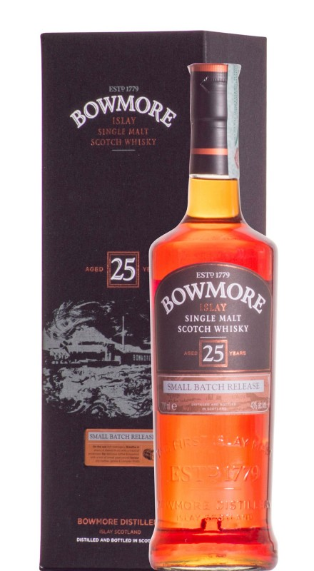 Bowmore 25 Y.O. Small Batch Release Single Malt Whisky