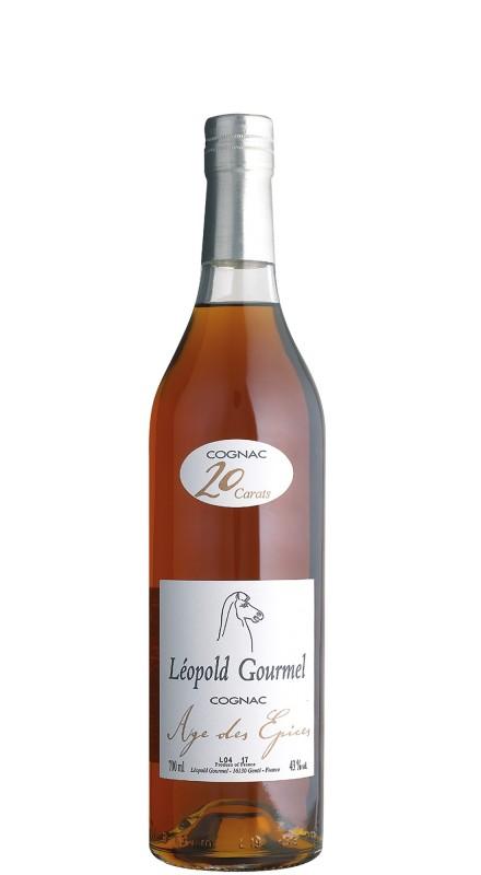 Léopold Gourmel L'age Des Epices Old Label Cognac