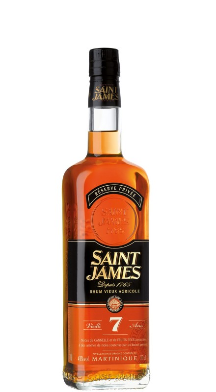 Saint James 7 Years Old Agricole Rhum