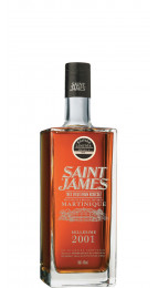 Saint James Cuvée 2001 Rhum Agricole