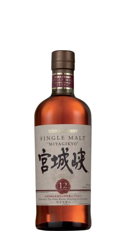 Nikka Miyagikyo 12 Y.O. Single Malt Whisky