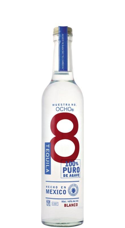 Ocho Blanco 2015 El Carrizal Tequila