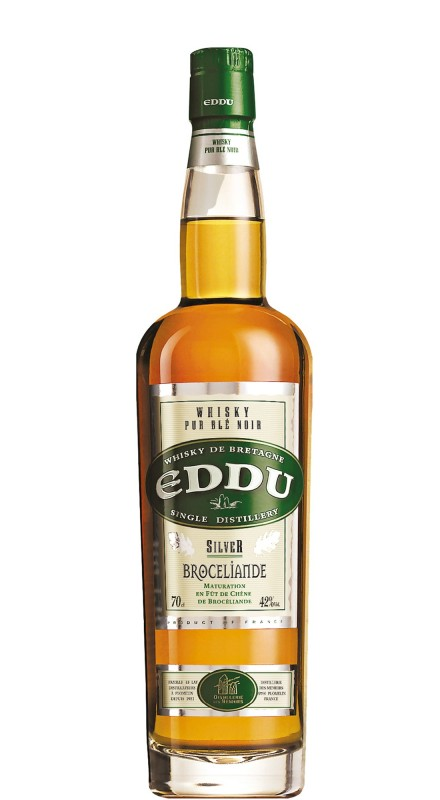 Eddu Silver Brocéliande Single Grain Whisky