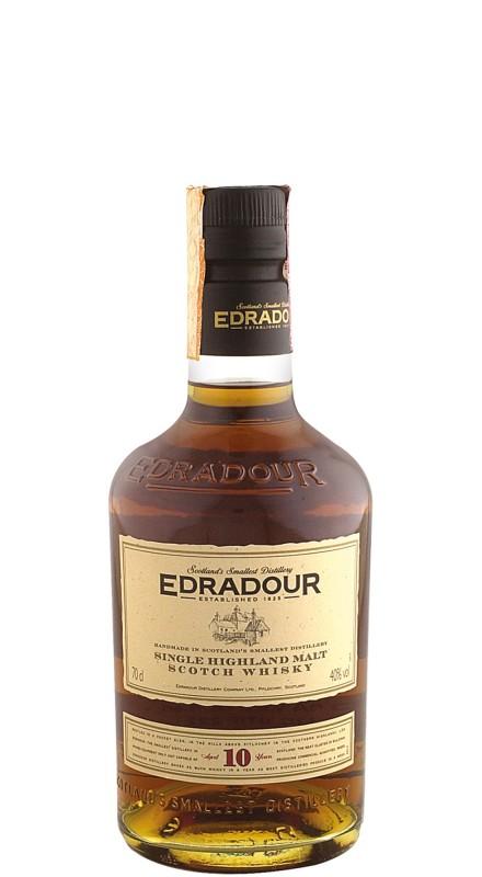 Edradour 10 Y.O. Single Malt Whisky