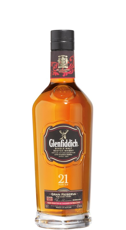 Glenfiddich 21 Y.O. Gran Reserva SIngle Malt Whisky