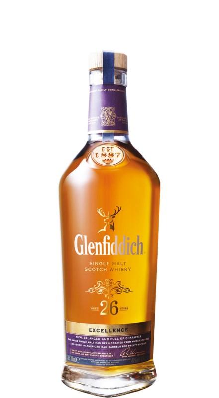 Glenfiddich 26 Y.O. Excellence SIngle Malt Whisky
