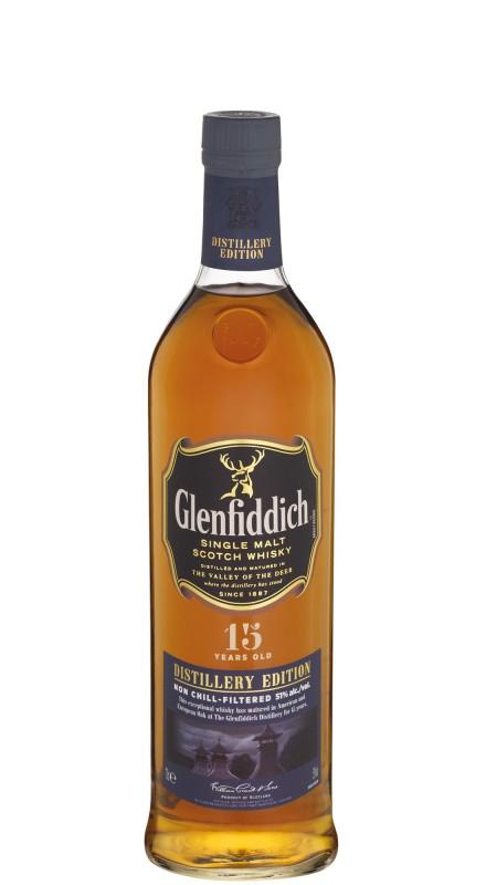 Glenfiddich 15 Y.O. Distillery Edition SIngle Malt Whisky