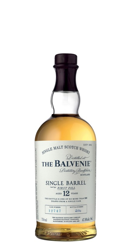 Balvenie 12 Y.O Single Barrel First Fill Single Malt Whisky