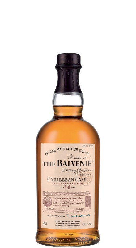 Balvenie 14 Y.O. Caribbean Cask Single Malt Whisky