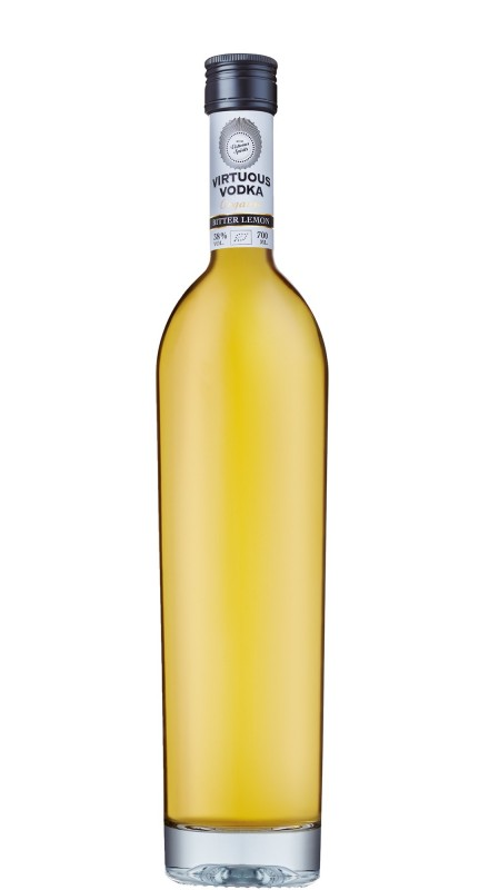 Virtuous Bitter Lemon Vodka
