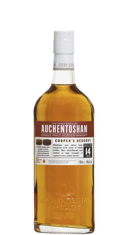 Auchentoshan 14 Y.O. Cooper Reserve Single Malt Whisky