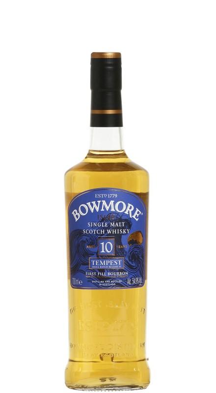 Bowmore 10 Y.O. Tempest Single Malt Whisky - Batch VI