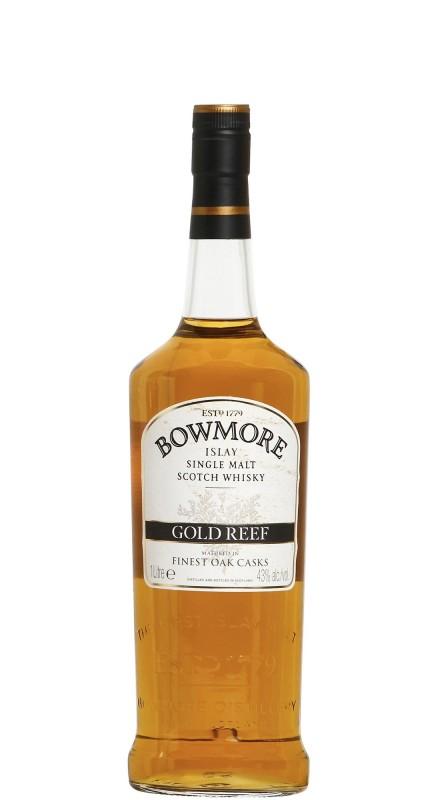 BOWMORE GOLD REEF Single Malt Whisky