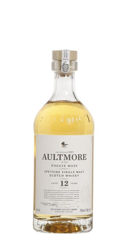 Aultmore 12 Y.O. Single Malt Whisky