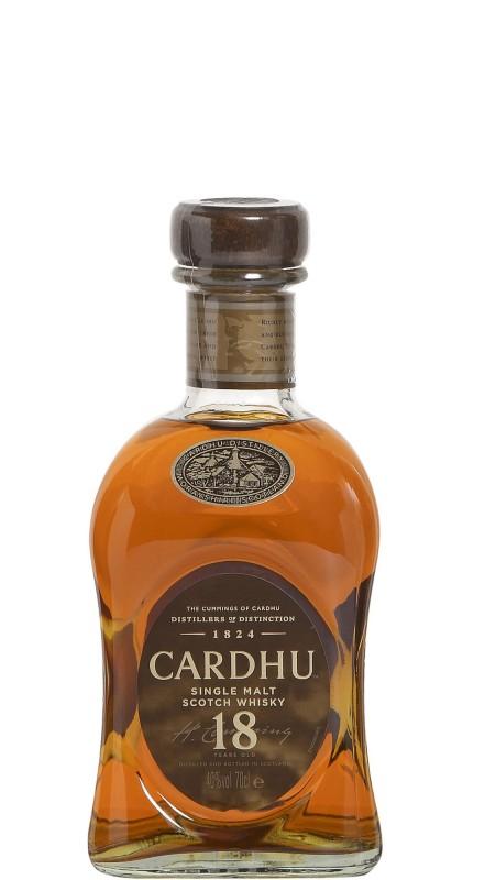 Cardhu 18 Y.O. Single Malt Whisky