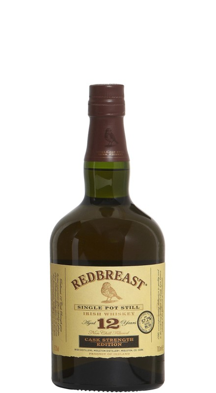 Redbreast 12 Y.O. Cask Strength Single Pot Still Whiskey