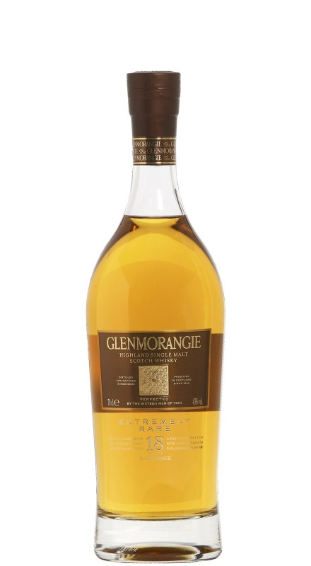 Glenmorangie 18 Y.O. Extremely Rare Single Malt Whisky