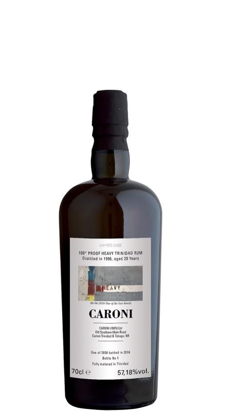 Caroni Trinidad 1996 100° Proof Rum