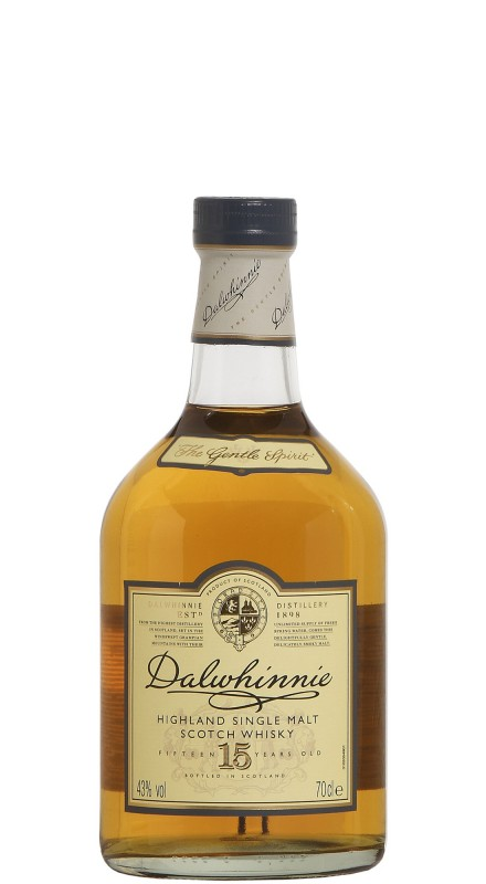Dalwhinnie 15 Y.O. Single Malt Whisky