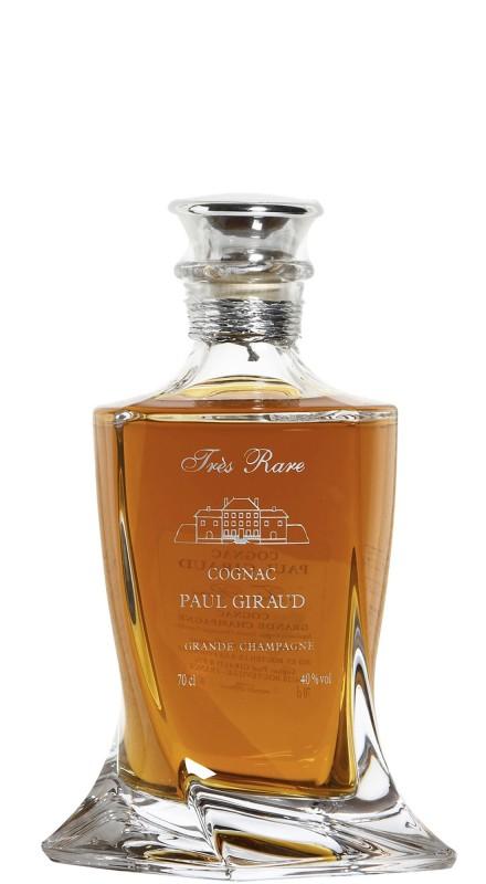 Paul Giraud Tres Rare Crystal Decanter Cognac