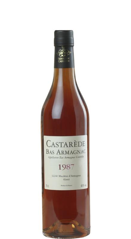 Castarede Armagnac 1987