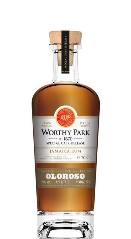 "Worthy Park Special Cask Release ""Oloroso Cask"" Rum"