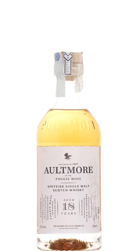 Aultmore 18 Y.O. Single Malt Whisky