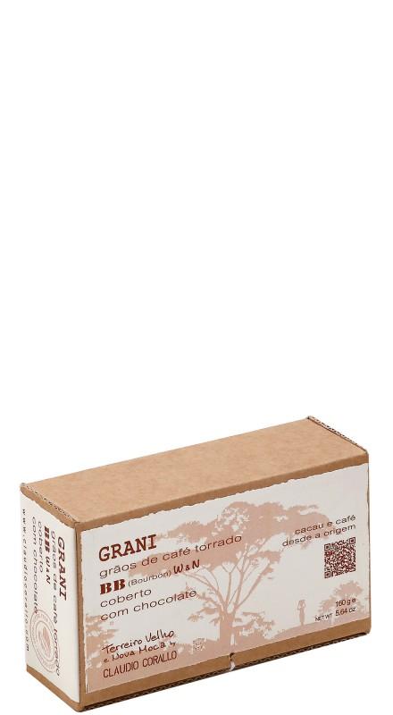 Cioccolato Corallo - BB - Grani Di Caffe' Ricoperti Di Cioccolato (Washed, Natural)