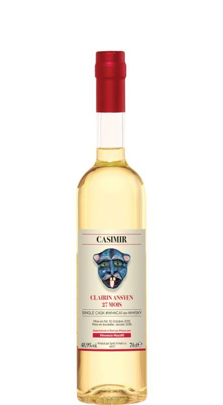 Clairin Ansyen Casimir 27 Mois Single Cask WHKCA1 Rhum Agricole