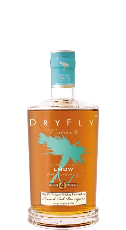 Dry Fly Triticale French Oak Finish Gin