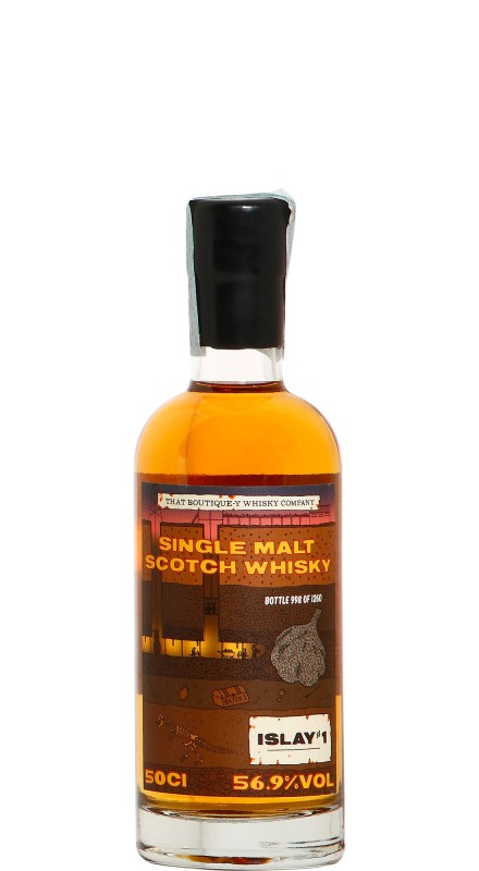 That Boutique-y Whisky Company Islay n.1 Batch 1 Whisky