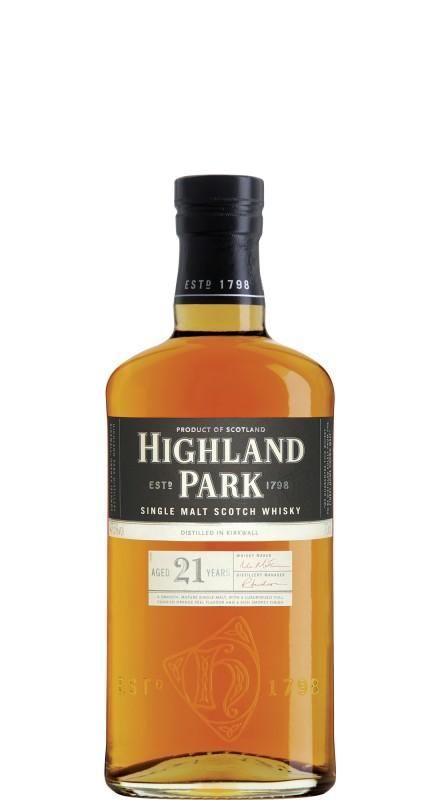 Highland Park 21 Y.O. Single Malt Whisky