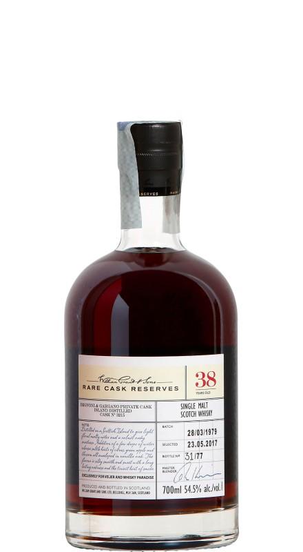 Rare Cask Island 38 Y.O. Single Malt Whisky