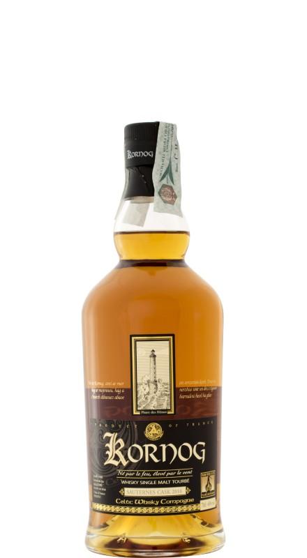 Kornog Roch Hir 2016 Peated Single Malt Whisky