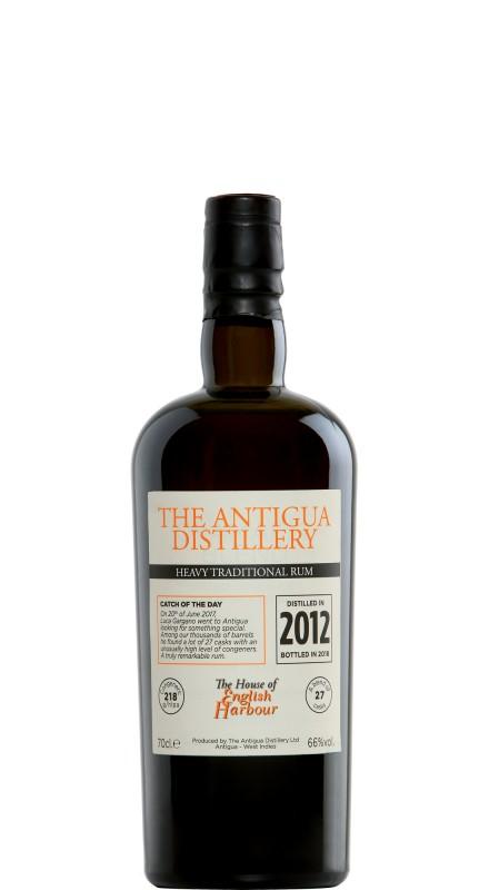 English Harbour The Antigua Distillery Heavy 2012 Rum
