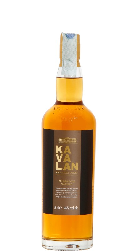 Kavalan Ex-Bourbon Oak Single Malt Whisky