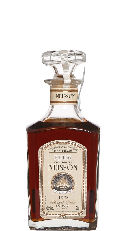 Neisson 1991 Hors D'age Extra Vieux Rhum Agricole
